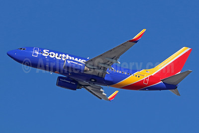 Southwest Airlines Boeing 737-7H4 WL N761RR (msn 27875) LAX (Michael B. Ing). Image: 936583.