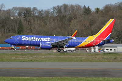 Southwest Airlines Boeing 737-8 MAX 8 N8815L (msn 65473) BFI (Nick Dean). Image: 953374.