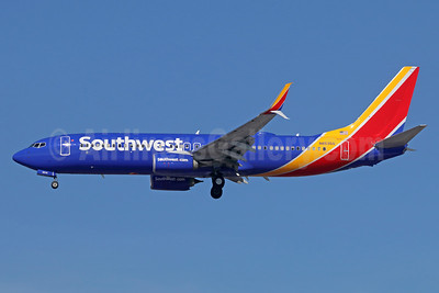 Southwest Airlines  Boeing 737-800 SSWL N8535S (msn 63596) LAX (Michael B. Ing). Image: 941020.