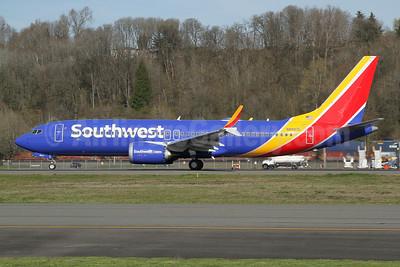 Southwest Airlines Boeing 737-8 MAX 8 N8807L (msn 65438) BFI (Nick Dean). Image: 953373.
