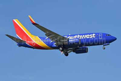Southwest Airlines Boeing 737-7H4 WL N222WN (msn 34290) TPA (Jay Selman). Image: 404107.
