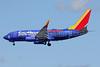 Southwest Airlines Boeing 737-7H4 WL N944WN (msn 36659) (Shark Week) DCA (Brian McDonough). Image: 938918.