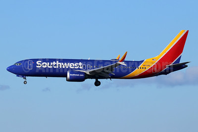 Southwest Airlines Boeing 737-8 MAX 8 N8708Q (msn 42566) LAX (Michael B. Ing). Image: 945961.