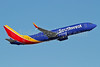 Southwest Airlines  Boeing 737-8H4 SSWL N8678E (msn 36735) PHX (Keith Burton). Image: 938519.