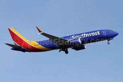 Southwest Airlines Boeing 737-8 MAX 8 N8703J (msn 42556) PAE (Nick Dean). Image: 953427.