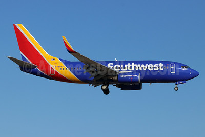 Southwest Airlines Boeing 737-7Q8 WL N7856A (msn 30630) SNA (Michael B. Ing). Image: 948238.