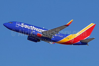 Southwest Airlines Boeing 737-7H4 WL N766SW (msn 29806) LAX (Michael B. Ing). Image: 935937.