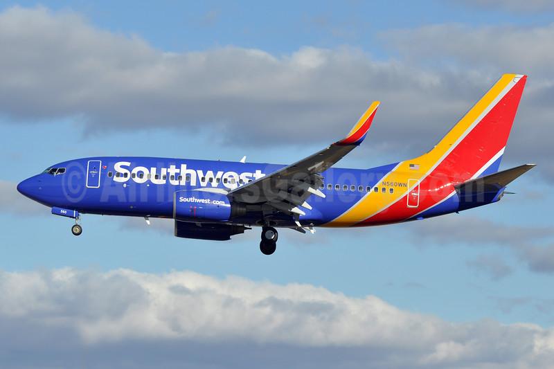 Southwest Airlines Boeing 737-790 WL N560WN (msn 30542) BWI (Tony Storck). Image: 925466.