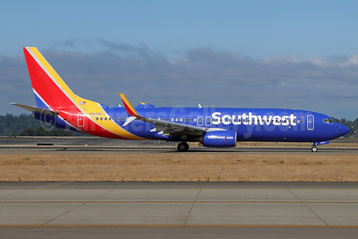 Southwest Airlines  Boeing 737-8H4 SSWL N8670A (msn 36656) SEA (Michael B. Ing). Image: 955031.