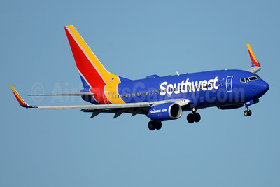 Southwest Airlines Boeing 737-7Q8 WL N7876A (msn 29355) DCA (Jay Selman). Image: 403579.