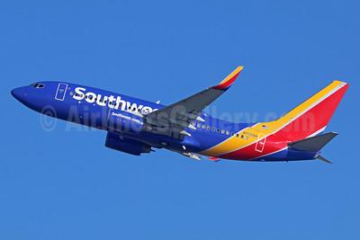 Southwest Airlines Boeing 737-76N WL N7709A (msn 32654) LAX (Michael B. Ing). Image: 936847.