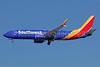 Southwest Airlines  Boeing 737-800 SSWL N8549Z (msn 63597) LAX (Michael B. Ing). Image: 941021.