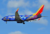 Southwest Airlines Boeing 737-7L9 WL N7816B (msn 28009) (Disney Pixar Coco) BWI (Tony Storck). Image: 939777.