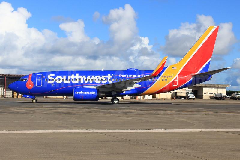 Southwest Airlines' Beats Music Boeing 737-700 logo jet