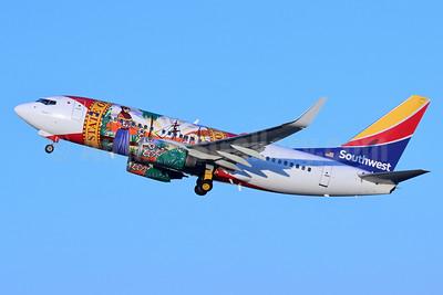 Southwest Airlines Boeing 737-7H4 WL N945WN (msn 36660) (Florida One) BUR (Michael B. Ing). Image: 955405.
