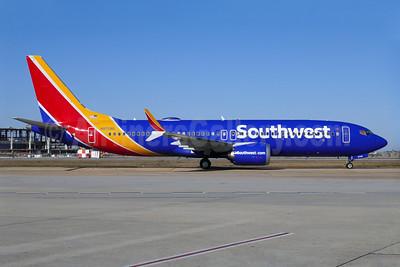 Southwest Airlines Boeing 737-8 MAX 8 N8708Q (msn 42566) MSY (Ken Petersen). Image: 940866.