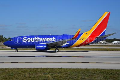 Southwest Airlines Boeing 737-76N WL N7822A (msn 32596) FLL (Bruce Drum). Image: 104499.