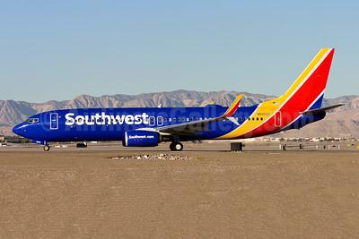 Southwest Airlines Boeing 737-800 SSWL N8560Z (msn 64115) LAS (Gunter Mayer). Image: 953345.