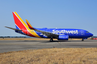 Southwest Airlines Boeing 737-7BD WL N7738A (msn 33930) SEA (Bruce Drum). Image: 104745.