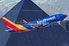 Southwest Airlines Boeing 737-7H4 WL N730SW (msn 27862) LAS (Brandon Farris). Image: 938660.