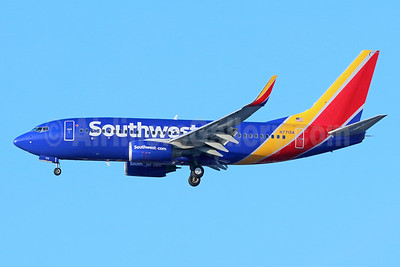 Southwest Airlines Boeing 737-7H4 WL N771SA (msn 27879) LAX (Michael B. Ing). Image: 936584.