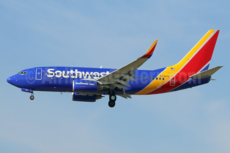 Southwest Airlines Boeing 737-752 WL N7847A (msn 34297) ONT (Michael B. Ing). Image: 938500.