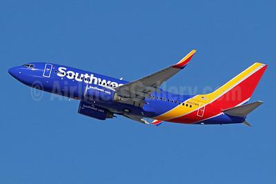 Southwest Airlines Boeing 737-7H4 WL N497WN (msn 32479) LAX (Michael B. Ing). Image: 935933.