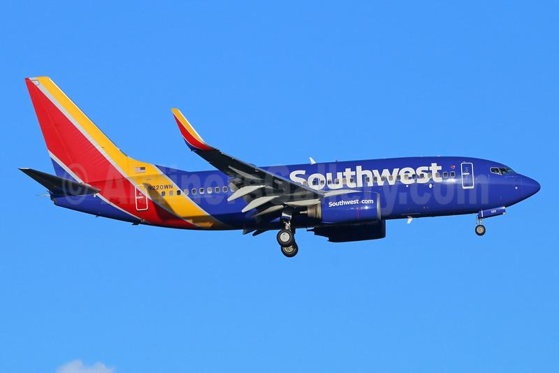 Southwest Airlines Boeing 737-7H4 WL N220WN (msn 32491) SEA (Michael B. Ing). Image: 935027.