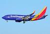 Southwest Airlines Boeing 737-7H4 WL N912WN (msn 36621) SJC (Michael B. Ing). Image: 930151.