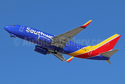 Southwest Airlines Boeing 737-7H4 WL N769SW (msn 30588) LAX (Michael B. Ing). Image: 935938.