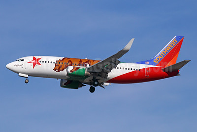 Southwest Airlines Boeing 737-3H4 WL N609SW (msn 27929) (California One) LAX (Michael B. Ing). Image: 934812.
