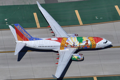 Southwest Airlines Boeing 737-7H4 WL N945WN (msn 36660) (Florida One) LAX (Robbie Shaw). Image: 937699.
