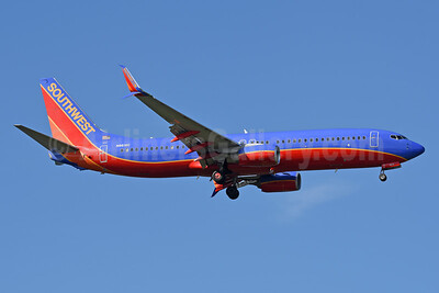 Southwest Airlines Boeing 737-8H4 SSWL N8616C (msn 36914) TPA (Jay Selman). Image: 404113.