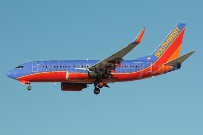 Southwest Airlines Boeing 737-76Q WL N550WN (msn 30279) LAS (Bruce Drum). Image: 103987.