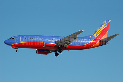 Southwest Airlines Boeing 737-3A4 N675AA (msn 23253) LAS (Bruce Drum). Image: 100171.