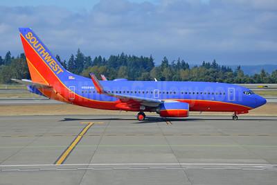 Southwest Airlines Boeing 737-7H4 WL N968WN (msn 36679) SEA (Bruce Drum). Image: 104763.