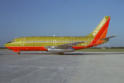 Southwest Airlines Boeing 737-2H4 N62SW (msn 22060) OKC (Gary Vincent - Bruce Drum Collection). Image: 948451.