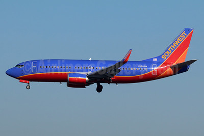 Southwest Airlines Boeing 737-3H4 WL N386SW (msn 26601) LAX (Michael B. Ing). Image: 938822.