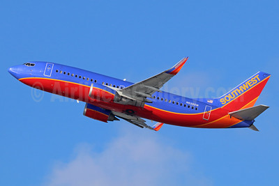 Southwest Airlines Boeing 737-3H4 WL N639SW (msn 27712) LAX (Michael B. Ing). Image: 938830.