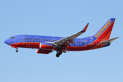 Southwest Airlines Boeing 737-7H4 WL N946WN (msn 36918) LAX (Michael B. Ing). Image: 941175.