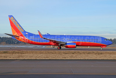 Southwest Airlines Boeing 737-8H4 SSWL N8634A (msn 42522) SEA (Michael B. Ing). Image: 943114.
