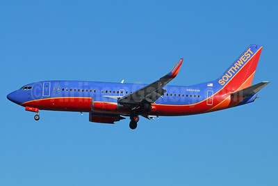 Southwest Airlines Boeing 737-3H4 WL N650SW (msn 27720) LAX (Michael B. Ing). Image: 938832.