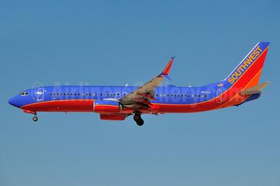 Southwest Airlines Boeing 737-8H4 SSWL N8631A (msn 42385) LAS (Ken Petersen). Image: 931852.