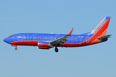 Southwest Airlines Boeing 737-3H4 WL N368SW (msn 26579) LAX (Michael B. Ing). Image: 938820.