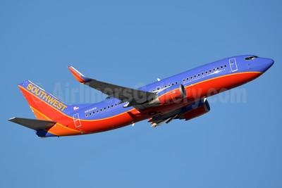 Southwest Airlines Boeing 737-3H4 WL N636WN (msn 27709) LAS (Jay Selman). Image: 402697.