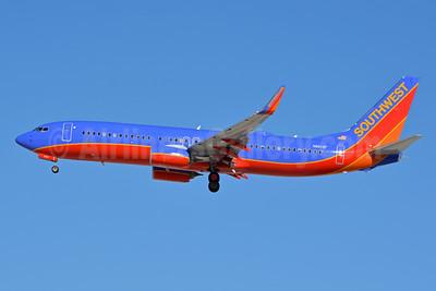 Southwest Airlines Boeing 737-8H4 WL N8619F (msn 33939) LAS (Jay Selman). Image: 402702.