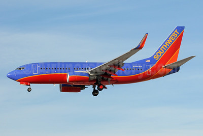 Southwest Airlines Boeing 737-7H4 WL N946WN (msn 36918) LAS (Bruce Drum). Image: 104004.