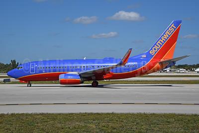 Southwest Airlines Boeing 737-7H4 WL N968WN (msn 36679) FLL (Bruce Drum). Image: 104759.