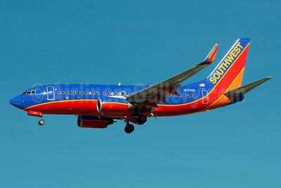 Southwest Airlines Boeing 737-7BD WL N7734H (msn 33923) LAS (Bruce Drum). Image: 103988.