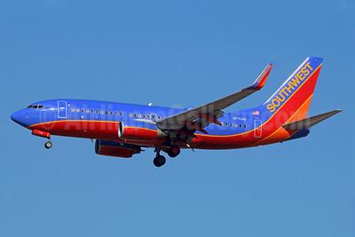 Southwest Airlines Boeing 737-76N WL N7714B (msn 32679) LAX (Michael B. Ing). Image: 939967.